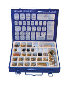 Schlage  Metal  Re-Keying Kit  1 each