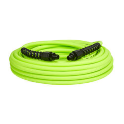 Flexzilla  Pro  50 ft. L x 1/4 in. Dia. Hybrid Polymer  Air Hose  300 psi Zilla Green