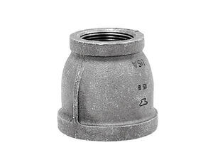 Anvil  1/2 in. FPT   x 1/4 in. Dia. FPT  Black  Malleable Iron  Reducing Coupling