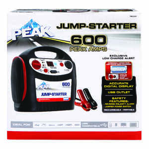 Peak  Automatic  12 volt 600 amps Battery Jump Starter