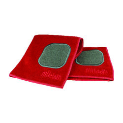 Mu Kitchen  Crimson  Microfiber  Dish Cloth  1 pk