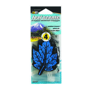 Ultra Norsk  Leaf Scents  4 pk Outdoor Breeze  Car Air Freshener
