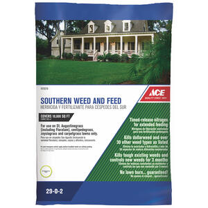 Ace  29-0-2  Weed and Feed  For Southern 32 lb. 10000 sq. ft.