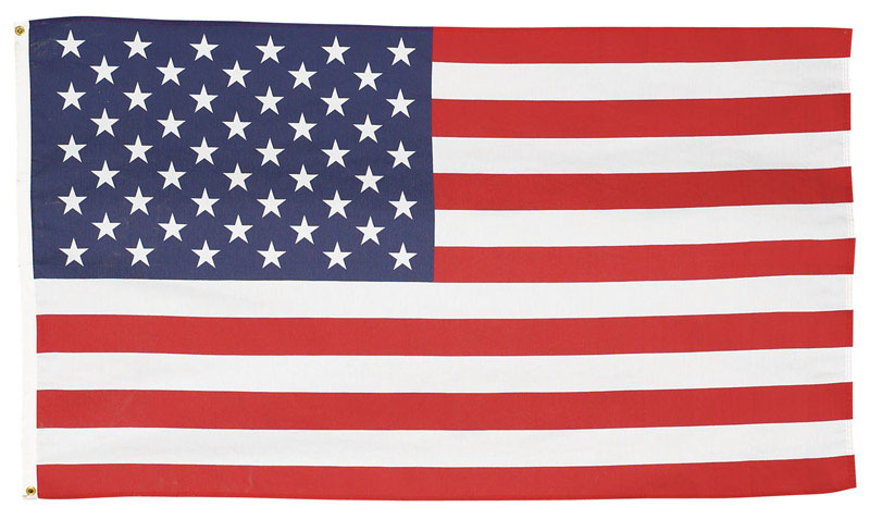 Valley Forge  American  60 in. W x 36 in. H Flag
