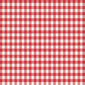Magic Cover  Red/White  Checkered  Plastic  Tablecloth  52 in. 52 in.