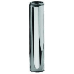 Selkirk  6 in. Dia. x 36 in. L Stainless Steel  Chimney Pipe