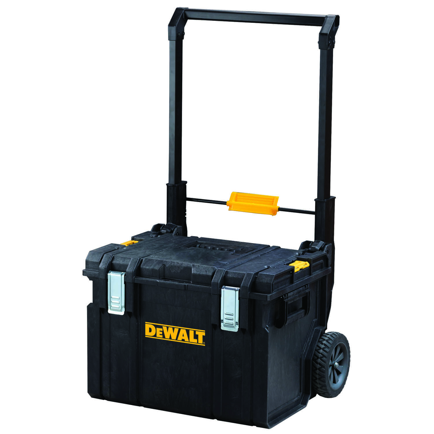 DeWalt  ToughSystem DS450  23 in. Plastic  Tool Mobile Storage  18 in. W x 24 in. H Wheeled Black