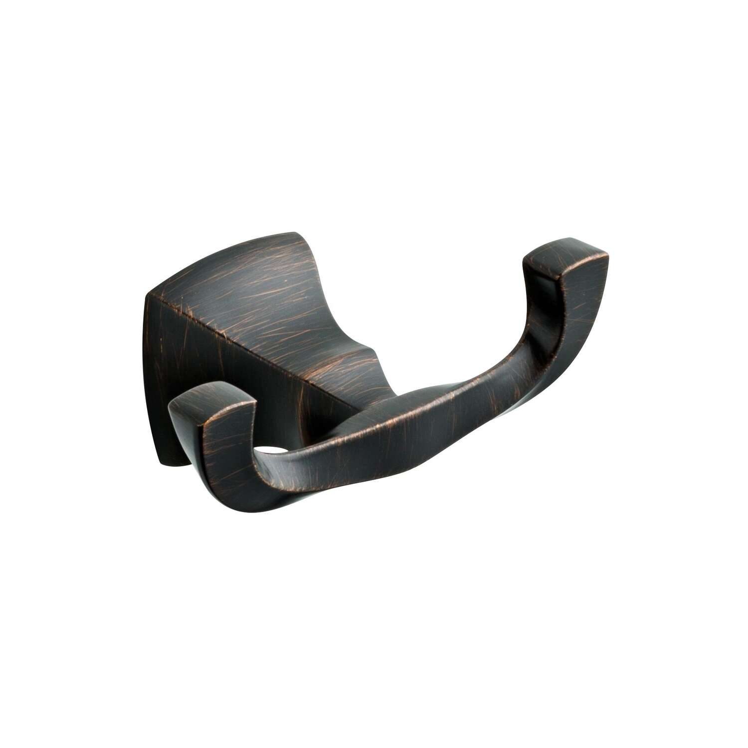 Delta  Sawyer  5.71 in. H x 3.07 in. W x 2.40 in. L Venetian Bronze  Robe Hook