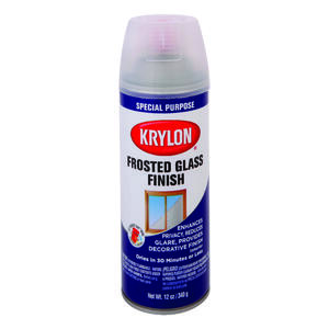 Krylon  Special Purpose  Frosted Glass  Spray Paint  12 oz.