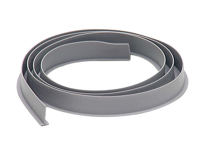M-D Building Products  Gray  Vinyl  Replacement Weatherstrip  37 in. L x 1/2 in.  For Door Sweep