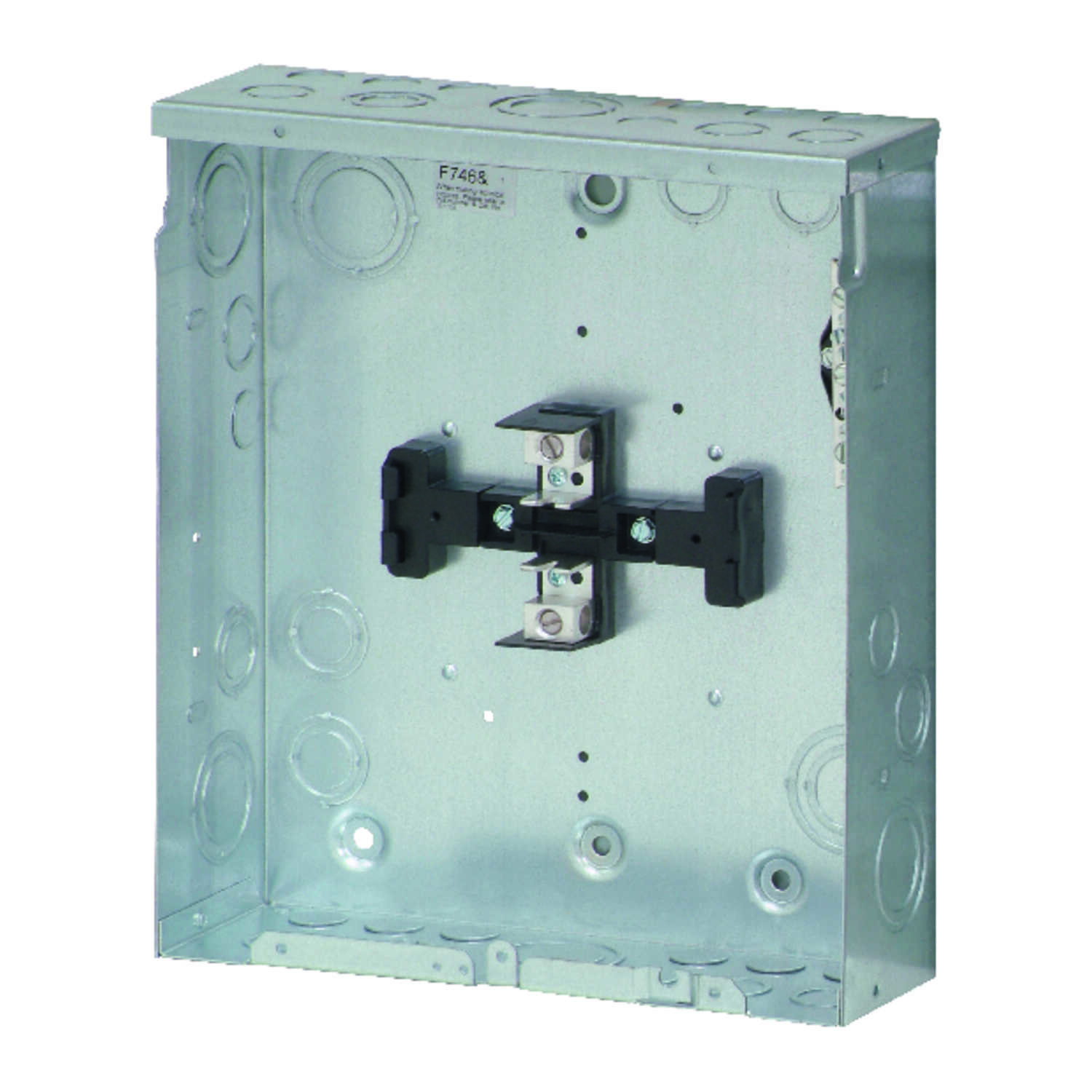 Eaton  Cutler-Hammer  125 amps 120/240 volt 4 space 8 circuits Surface Mount  Main Lug Load Center