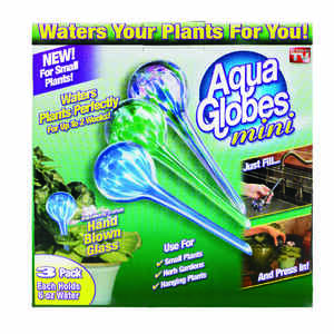 Aqua Globe  As Seen On TV  Assorted  0.14 gal. Glass  Aqua Globe