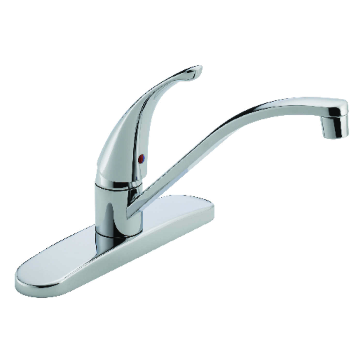 Peerless  Tunbridge  Choice  One Handle  Chrome  Kitchen Faucet