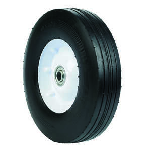 Arnold  10 in. Dia. x 2.75 in. W General Replacement Wheel  175 lb. Steel