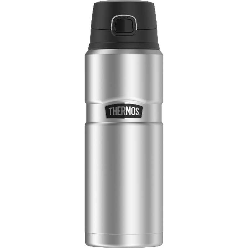 Thermos  Stainless King  24  Vacuum Insulated  Beverage Bottle  Stainless