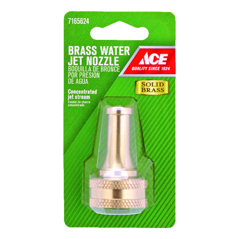 Ace Jet Stream Brass Hose Nozzle
