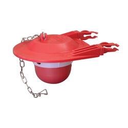 Korky  Toilet Flapper  Red  For Universal 3 in.