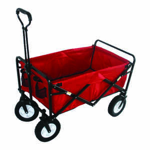 Mac Sports  22.5 in. H x 20.2 in. W x 35.5 in. D Collapsible Utility Cart  Polyester