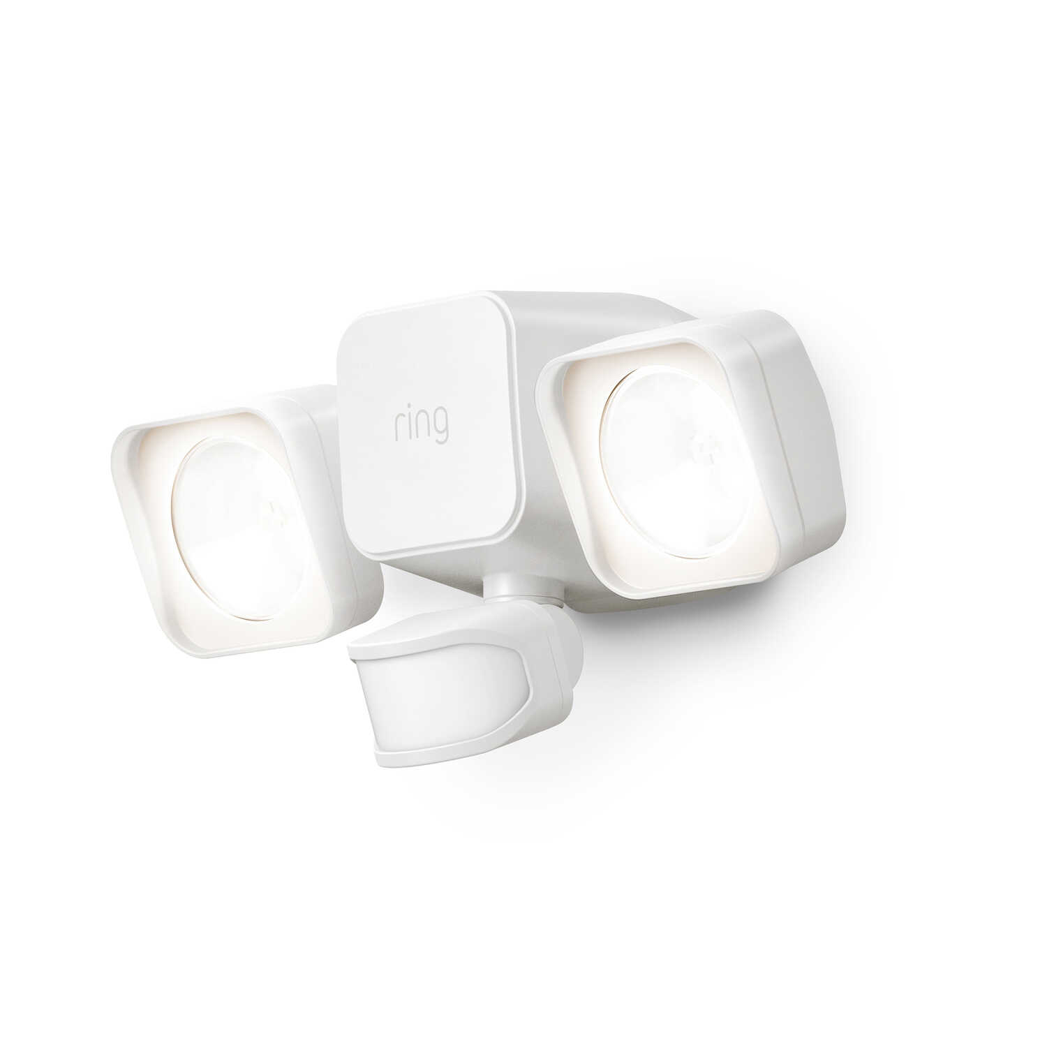Ring  Motion-Sensing  Battery Powered  LED  White  Floodlight