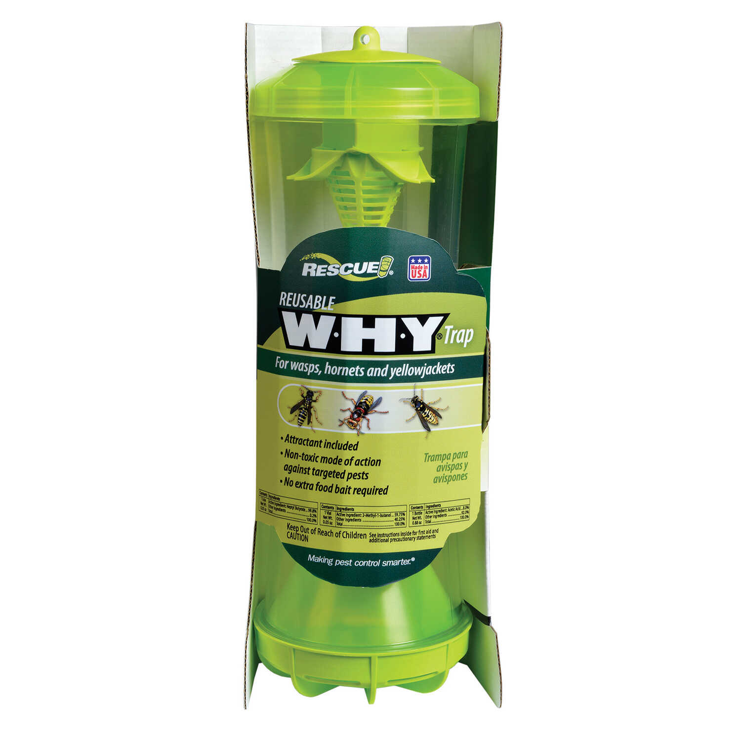 RESCUE  Yellow Jacket and Wasp Trap  1 pk