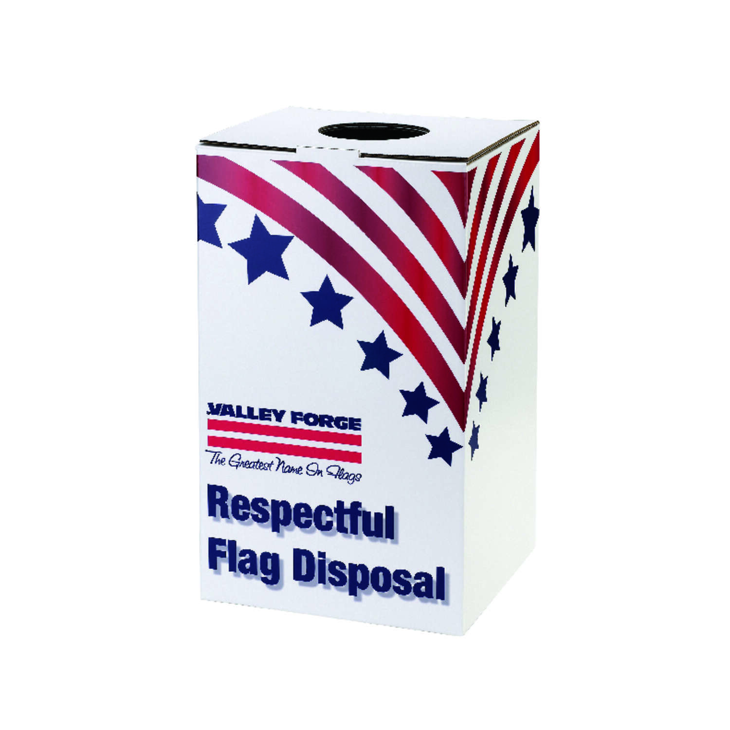 Valley Forge Flag Disposal Box 22 in. H x 12.5 in. W