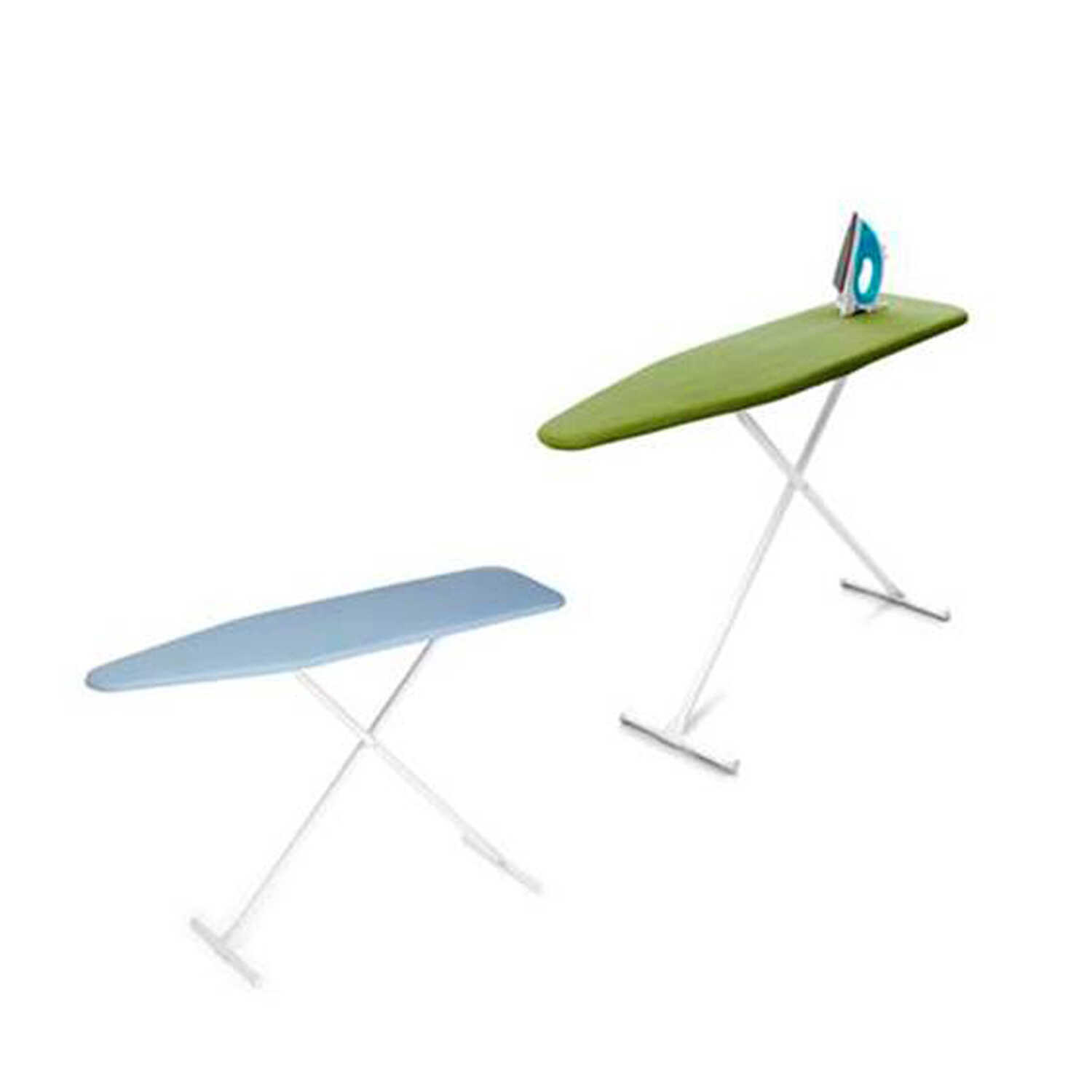Homz  35 in. H Steel  Ironing Board  Pad Included