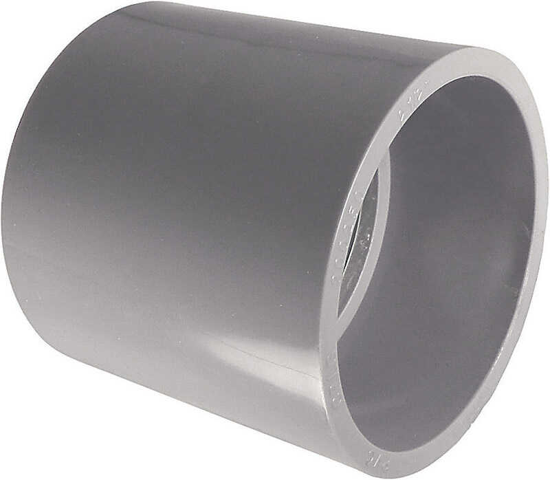 Cantex  3/4 in. Dia. PVC  Electrical Conduit Coupling