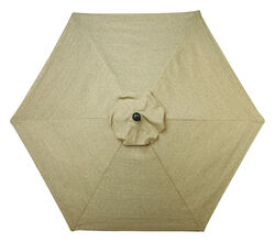 Living Accents  Avalon  9 ft. Tiltable Brown  Patio  Umbrella