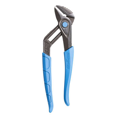 Channellock  SpeedGrip  9.5 in. Carbon Steel  Push Button  Tongue and Groove Pliers