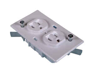 US Hardware  RV Receptacle Conventional Duplex  1 pk