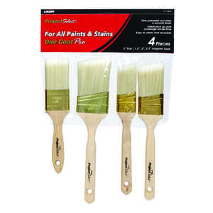 Linzer  Assorted in. W Assorted  Polyester  Paint Brush Set