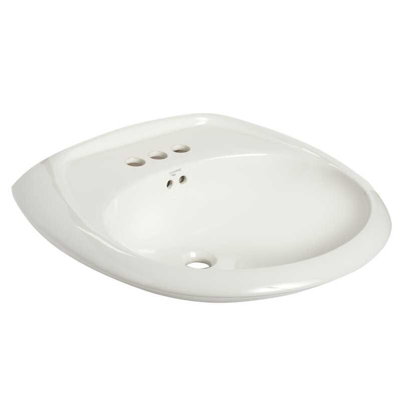 Mansfield  Maverick  Oval  23.875 in. Lavatory Sink  White