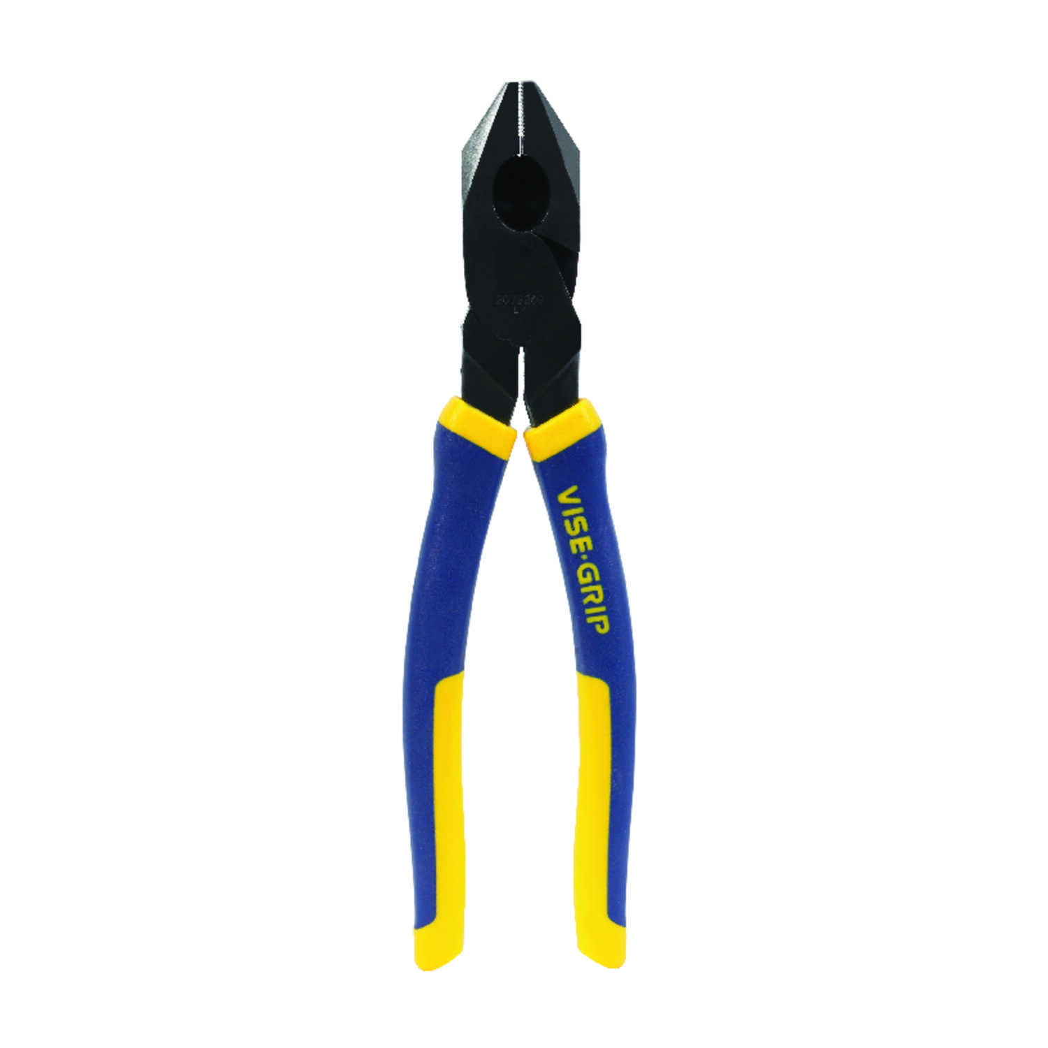 Irwin  9-1/2 in. Steel  Linesman Pliers  Blue  1 pk