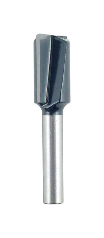 Craftsman  1/2 in. Dia. x 25/32 in.   2-Flute Straight  Router Bit  Carbide Tipped  1/2 in. Dia. x 2