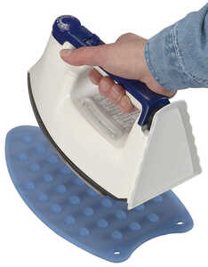 Household Essentials  0.25 in. H Metal/Plastic  Pad Included Ironing Board