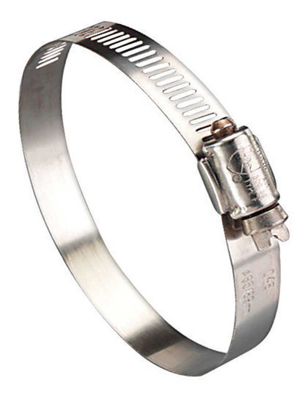 Ideal  2-1/2 in. 3-1/2 in. Stainless Steel  Hose Clamp