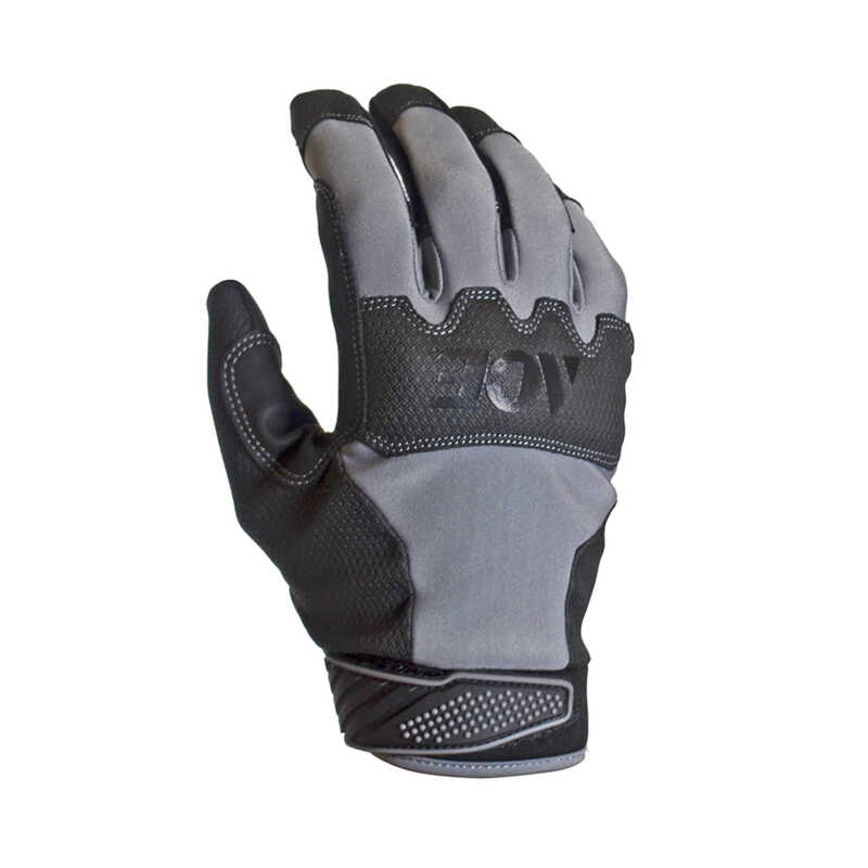 Ace  Extreme  Men's  Indoor/Outdoor  Synthetic Leather  Work Gloves  Black  M  1
