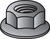 Hillman 3/8 in. Zinc-Plated Steel USS Whiz Lock Nut 100 pk