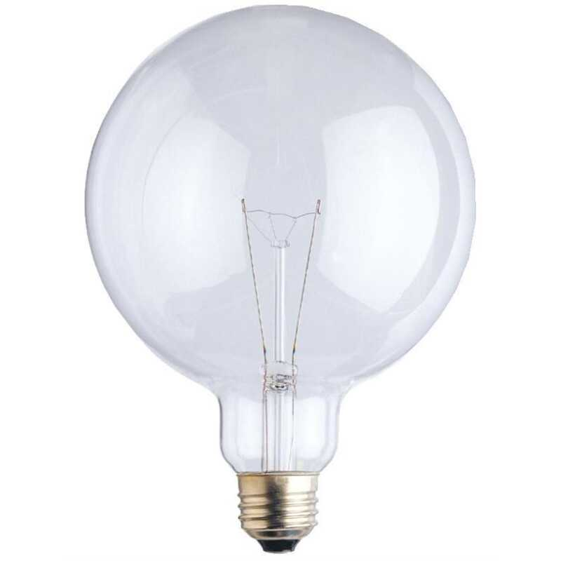 Westinghouse  60 watts G40  Incandescent Bulb  722 lumens Warm White  Globe  1 pk