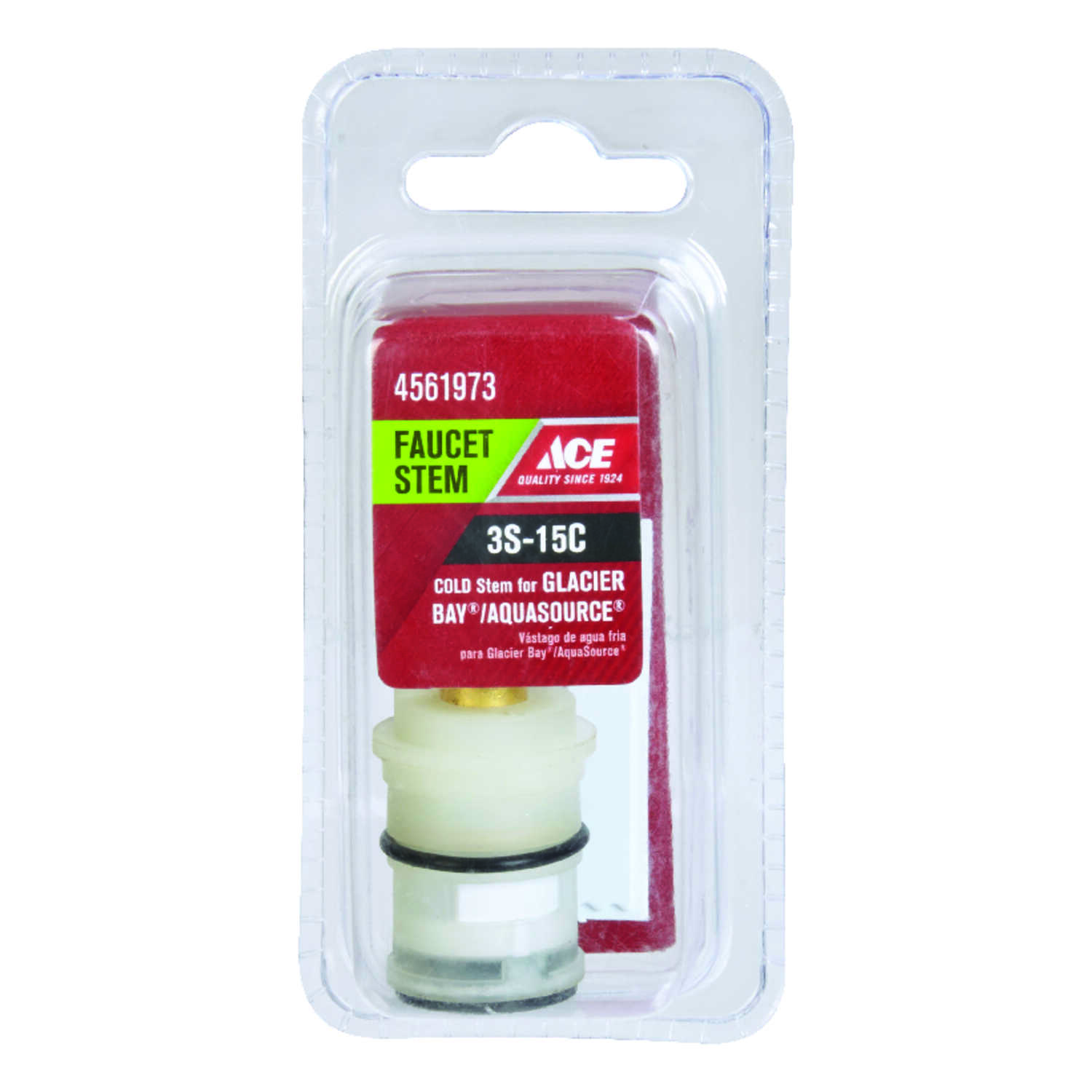 Ace  Cold  3S-15C  Faucet Stem  For Glacier Bay & Aquasource