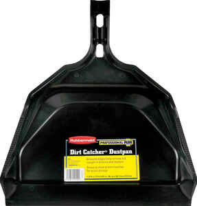 Rubbermaid  Dirt Catcher  Plastic  Wide Mouth  Dust Pan