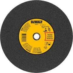 DeWalt High Performance 14 in. Dia. x 7/64 in. thick x 1 in. Metal Grinding Wheel 1 pc.