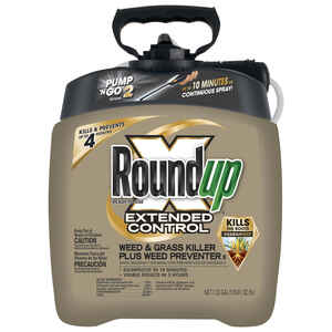 Roundup  RTU Liquid  Weed and Grass Killer  1.33 gal.