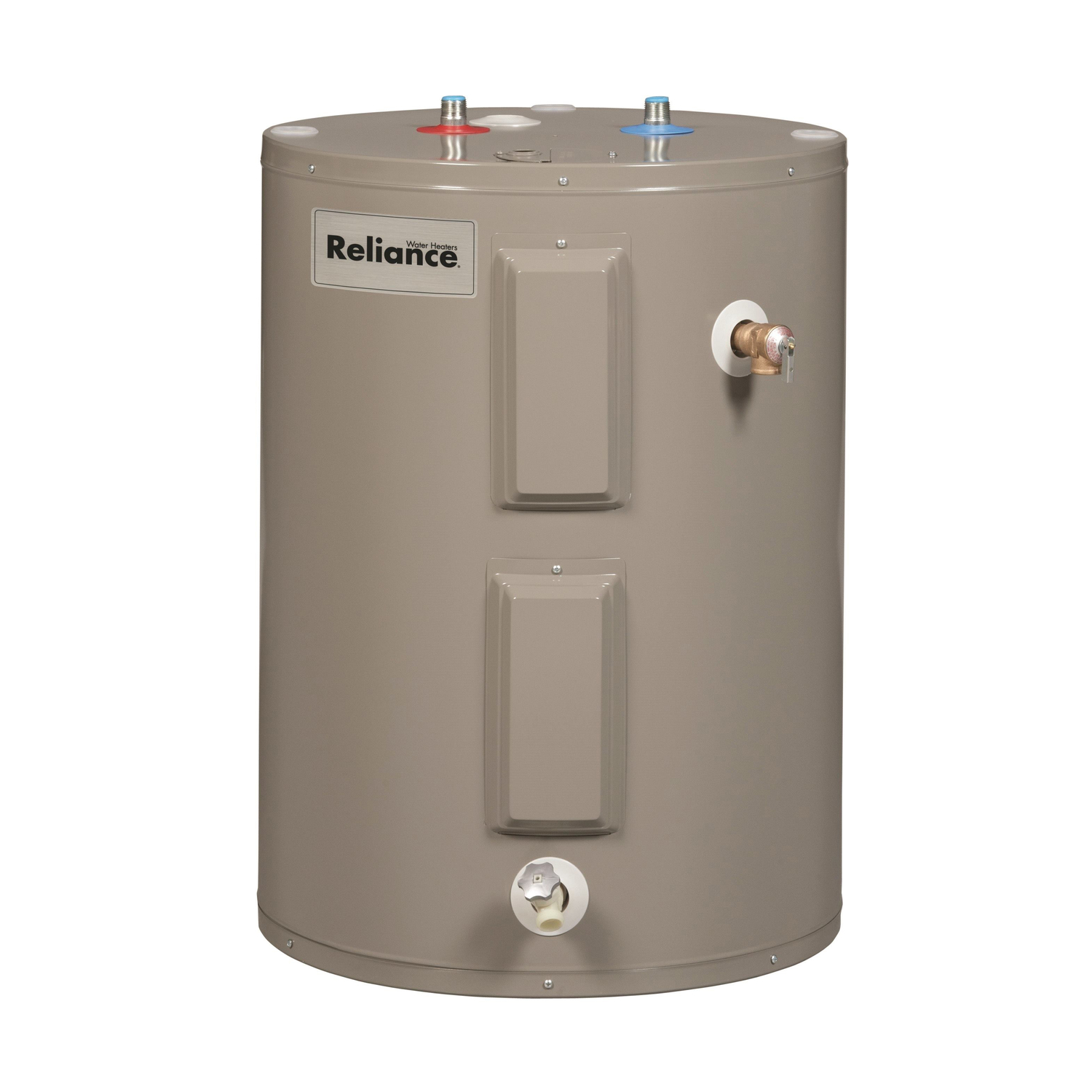 Reliance  Lowboy Water Heater  Electric  48 gal. 34 in. H x 26-1/2 in. L x 26-1/2 in. W