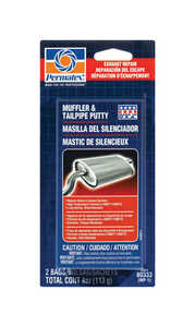 Permatex Muffler and Tailpipe Putty Exhaust System 4 oz.
