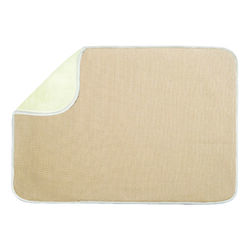 InterDesign  24 in. H x 18 in. W x 24 in. L Microfiber  Drying Mat  Wheat