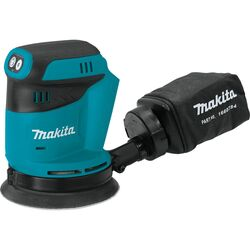 Makita  LXT  5 in. Cordless  Random Orbit Sander  18 volt 11000 opm Teal