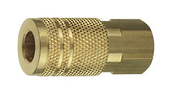 Tru-Flate  Brass  Quick Change Coupler  1/4 in. FPT  NPT  1 pc.