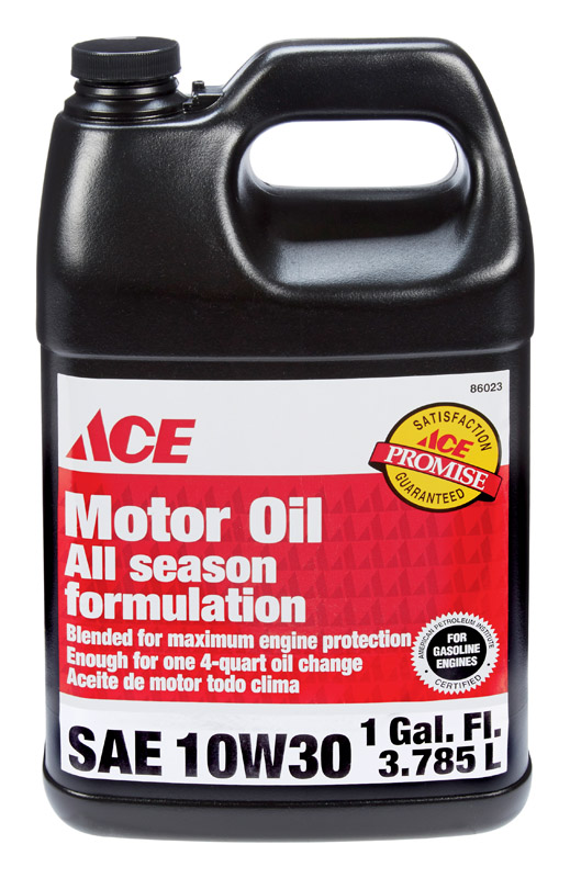 Ace  SAE 10W30  Motor Oil  1 gal.