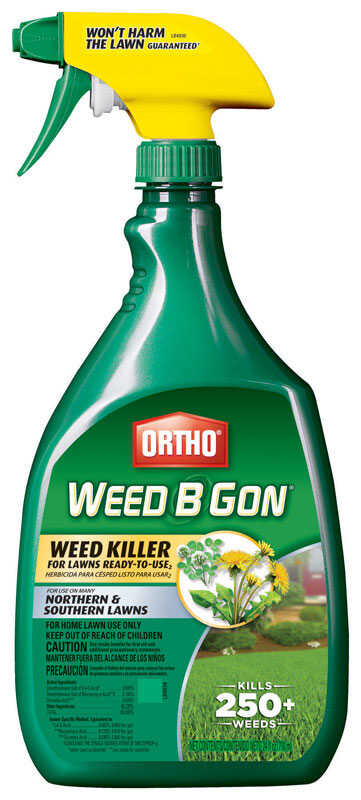 Ortho  Weed B Gon  RTU Liquid  Weed Killer  24 oz.